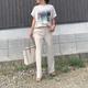 意外と知らない「30代のプリントTシャツ」術。上品カジュアルに見せる攻略法♪