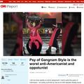 CNN系メディアが「PSYは最悪の反米主義者」と報道 江南スタイル