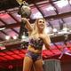 シャーロットNXT女子王座を奪取した(C)2020 WWE, Inc. All Rights Reserved.
