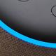 「アレクサ」と声をかけられるとリングが青く光るAmazon Echo Dot(第3世代)