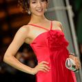 【第23回東京国際映画祭】赤のドレスが美しい海保エミリ