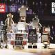 昭和の時代に僕たちの心をアツくした懐かしい 「黄金戦士ゴールドライタン」などをロボットアニメ酒場「ROBOT KICHI」で展示