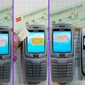 (左)香港のSIMカードの入った携帯を持っていく。(中)中国到