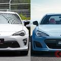 トヨタとスバルが共同開発した「86」と「BRZ」。次期型モデルは2