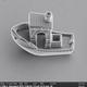 3Dプリンターで世界最小、30ミクロンのボートを01