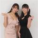 チェキチャアンバサダーに就任した左から森咲智美、長澤茉里奈