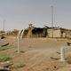 2日の火災で焼け落ちたイラン中部ナタンズの核関連施設の建物。イラン原子力庁提供=ロイター