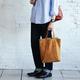 土屋鞄らしい革のエコバッグで買い物も気分が上がりそう!