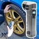 ボタン1つで車のタイヤの空気入れができる!充電式空気入れ「電動エアコンプレッサーmini」