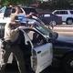 黒人を含む若者3人が駆け付けた警察官に銃を向けられ一時拘束された/Obtained by CNN