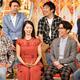 上段左から、アンガールズ、パンクブーブー 下段左から、テリー伊藤、野村真美、藤森慎吾、友近