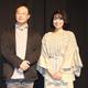 深田晃司監督(左)と土村芳