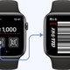 Apple Watchでのau PAY(コード決済)の画面イメージ