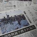 朝日新聞は連日シリア発の記事を掲載している