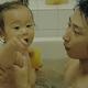 「だいじょーぶ、だいじょーぶ」。お風呂で「歌」がこぼれ落ちた瞬間(©︎2020 hiroaki kawai/SPACE SHOWER FILMS)