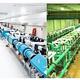 実験で利用されたレーザー施設。フランス・エコールポリテクニークのLULI 2000レーザー(左)と、大阪大学の激光XII号レーザー(右)。(画像: 岡山大学の発表資料より)