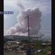 ピンク色の煙が…中国の化学工場で爆発 10人死傷