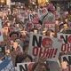ソウルで開かれた日本への抗議集会 ホワイト国除外決定で規模拡大