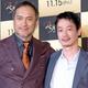 (左から)『ベル・カント とらわれのアリア』舞台挨拶付きジャパンプレミアに登場した渡辺謙、加瀬亮