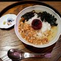 「絶品梅茶漬け」650円(税抜)
