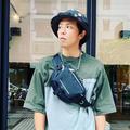歌手で俳優のエイリアン・ホアン(黄鴻升、小鬼)=本人のインス