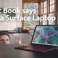 macbook microsoft surface cm 動画