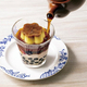 プッチンプリンの新境地...! タピオカ&シャリシャリプリンにコーヒーをかける贅沢。