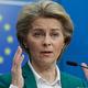 フォンデアライエン欧州委員長=16日、ブリュッセル(EPA時事)
