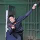 ブルペンで投球練習をするオリックス・能見=オセアンバファローズスタジアム(代表撮影)
