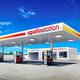 出光興産の系列の給油所の新たなデザイン=同社提供