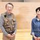 ジャーナリストの池上彰さん(左)と増田ユリヤさん(右)