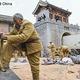 23日、新浪軍事は、中国の抗日ドラマでしばしば見られる兵器や戦術上の「誤り」を指摘する記事を掲載した。写真は抗日ドラマの撮影現場(資料写真)。