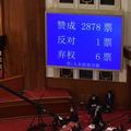 28日の中国・全人代で香港版国家安全法の制定方針が採択された=