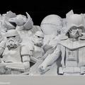 大雪像「雪のスター・ウォーズ」模型(公式)