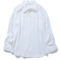 白フロントリボンブラウス1,990円+税/UNIQLO