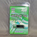 Trancend 4Gバイト USBフラッシュメモリー「TS4GJF160」6,981円