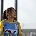 なでしこリーグオールスター戦に出場した和田奈央子。 (Photo b