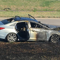 エンジンの炎上事故