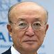 国際原子力機関(IAEA)の天野之弥事務局長=2018年11月、ウィーン(AFP時事)