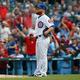 22日、敗戦投手となったカブスのクレイグ・キンブレル【写真:Getty Images】