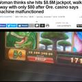 本格的なカジノ施設で高額当選も「機械のミス」なんてアリ?(画