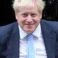 ジョンソン英首相=15日、ロンドン(AFP時事)
