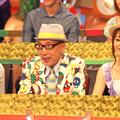 テリー伊藤、眞鍋かをり/「やりすぎ都市伝説2009」番組収録