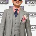 プロサッカー選手の三浦知良(スポーツ界部門で選出)
