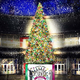 """お台場ヴィーナスフォートのクリスマス、""""光と雪""""を表現したイルミネーションや巨大ツリー"""