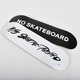 スケートボード「NO SKATEBOARD ロゴ デッキ」/「NO SKATEBOARD × SHIDO AKAMA デッキ」