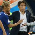 本田と西野監督、逆風に晒されてきたふたりが結果を残した。写真