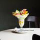レトロ空間でいただく憧れのフルーツパフェ「喫茶マロン」