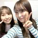 『みるみる道場』今回は、NMB48本郷柚巴(左)×白間美瑠(右)/(C)NMB48