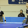 優勝した日本生命の藤井寛子,若宮三紗子のペア (photo by Watar